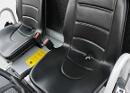 Sedili con sensore di presenza guidatore per trattore elettrico