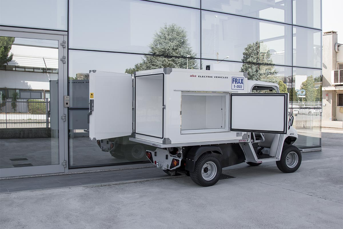 Camioncino isotermico elettrico