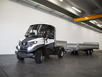 electric vehicles with trailer