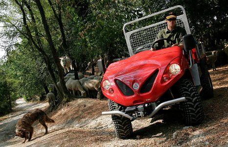 Landwirtschaftliche Fahrzeuge 4x4 für Bauernhöfe