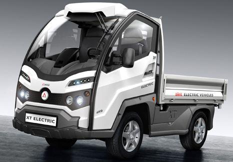 Virtual Tour mit dem Elektro-Fahrzeug XT320E