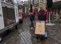 trasporto e consegna dei pacchi